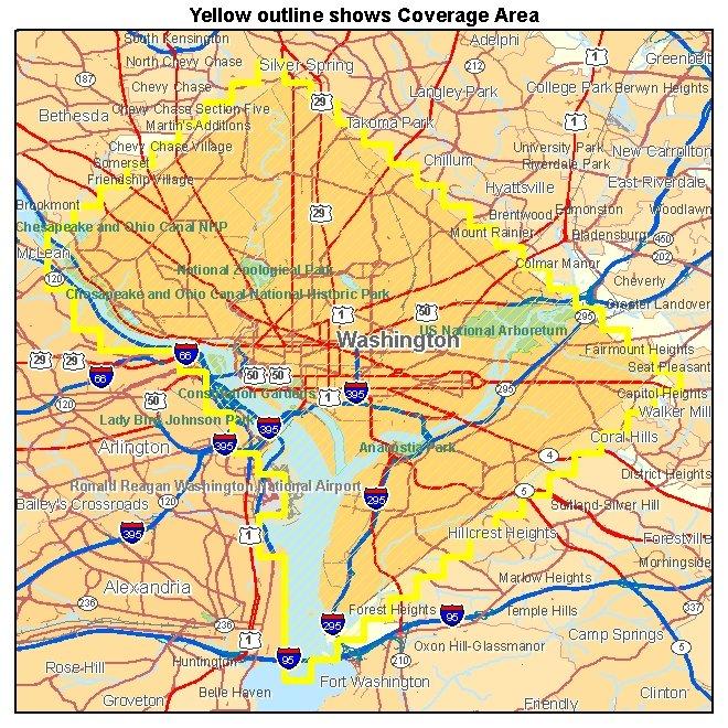 Washington DC aerial photography