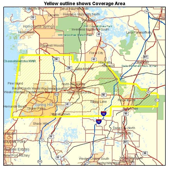 Hernando County FL Aerial Photography 2005 030 Meter