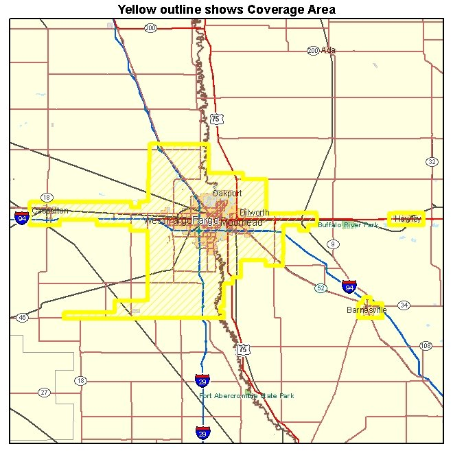 Fargo Minnesota Map Submited Images  Pic2Fly