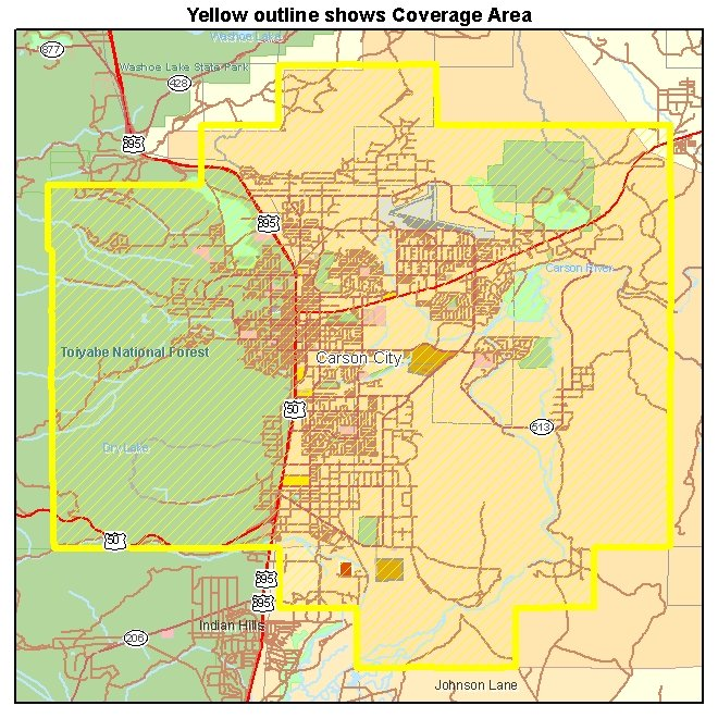 Carson City Nevada Map Related Keywords Amp Suggestions