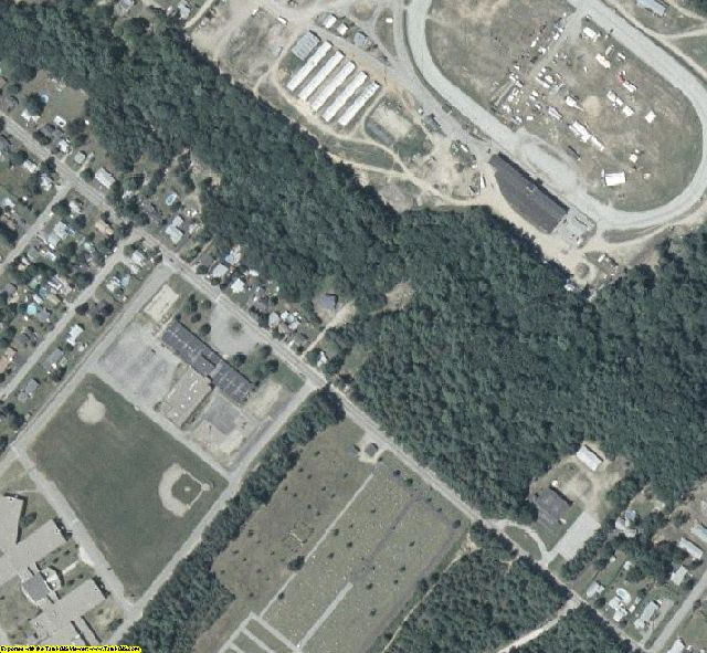 Strafford County, NH aerial photography detail