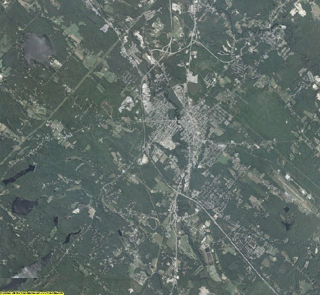 Strafford County, New Hampshire aerial photography