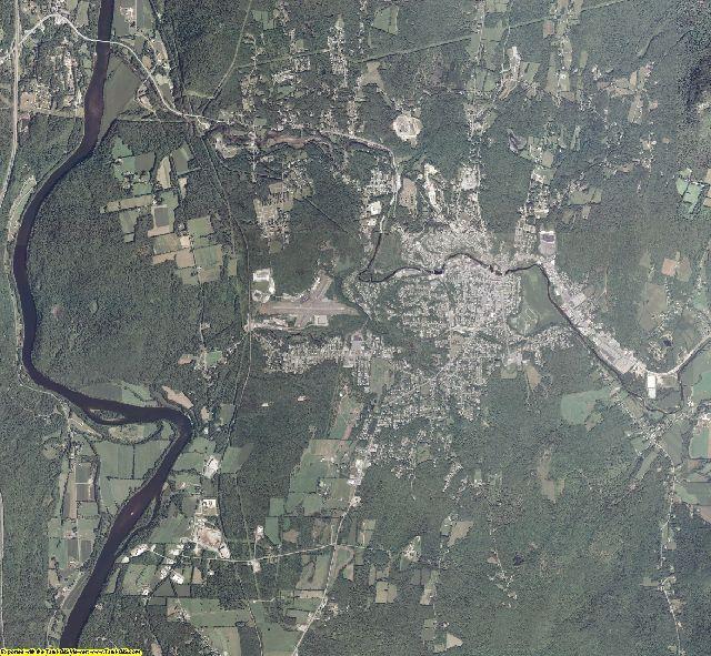 Sullivan County, New Hampshire aerial photography