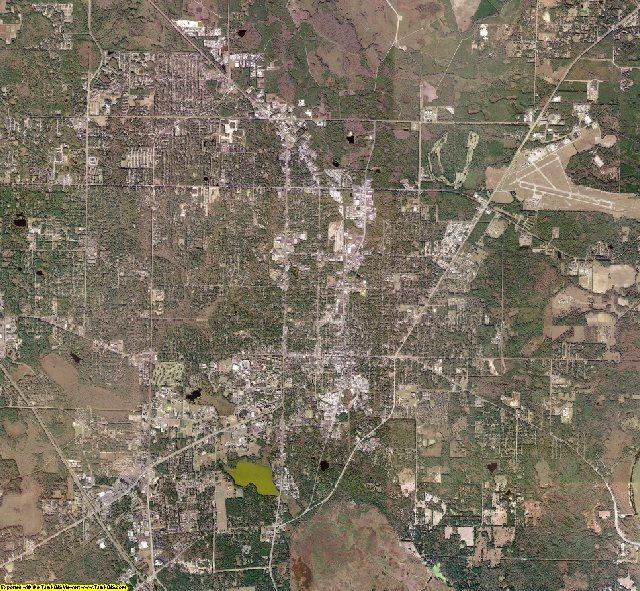 Alachua County, Florida aerial photography