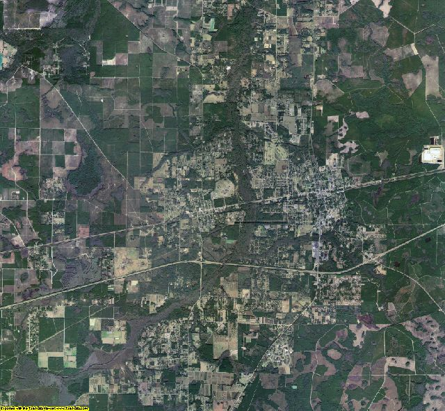 Baker County, Florida aerial photography