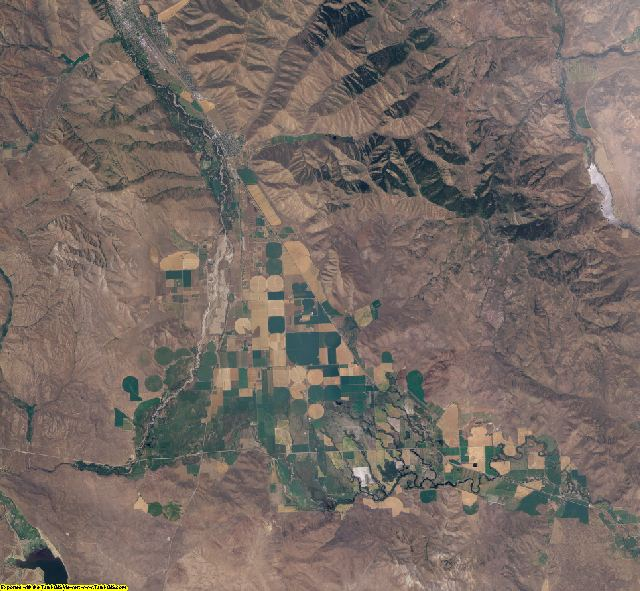 Blaine County, Idaho aerial photography