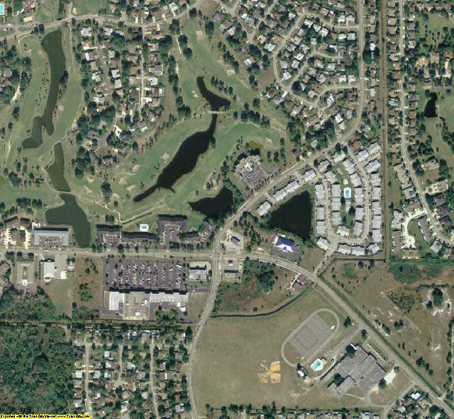 Brevard County, FL aerial photography detail