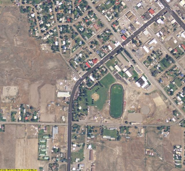 Butte County, ID aerial photography detail