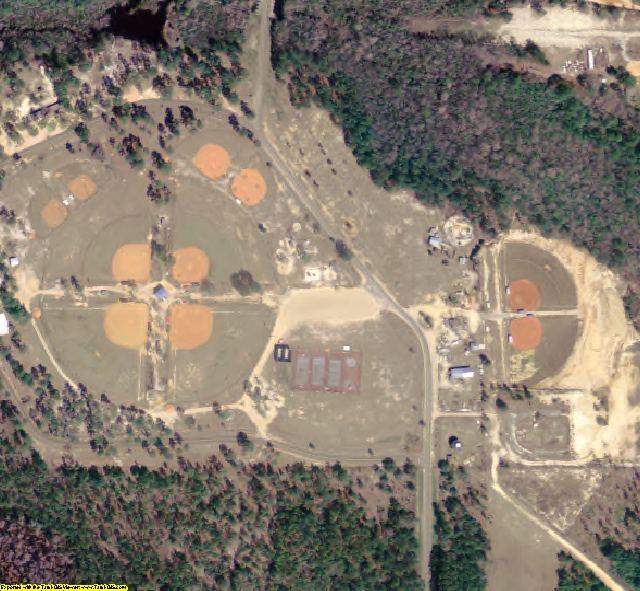 Calhoun County, FL aerial photography detail