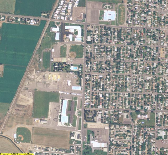Cassia County, ID aerial photography detail