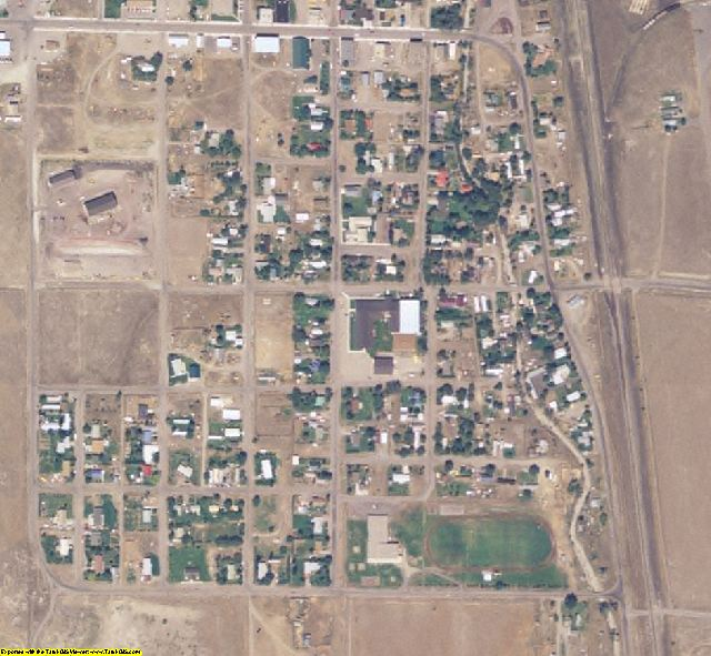 Clark County, ID aerial photography detail