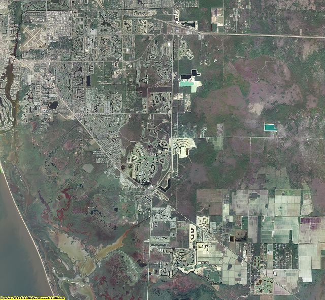 Collier County, Florida aerial photography
