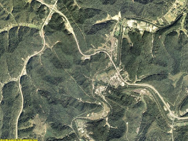 Floyd County, Kentucky aerial photography