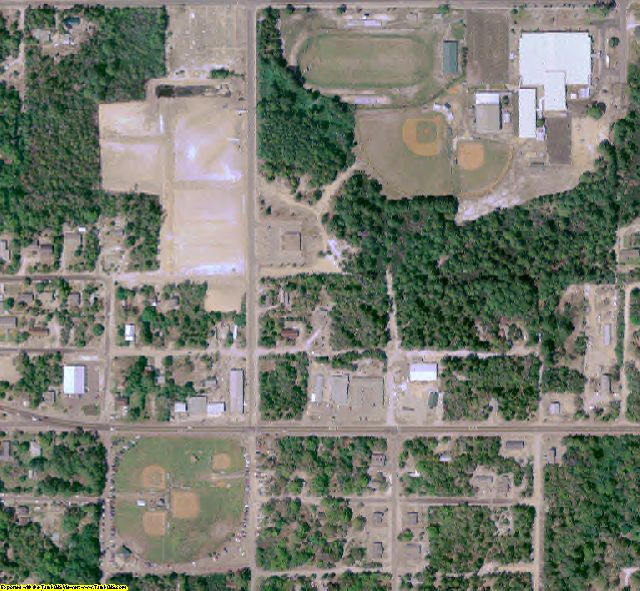 Franklin County, FL aerial photography detail