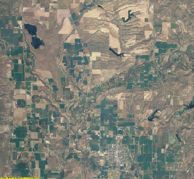Franklin County, Idaho aerial photography