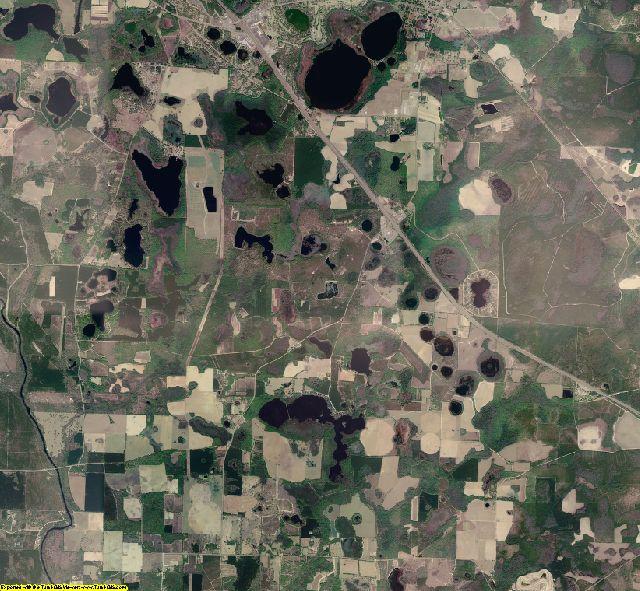Hamilton County, Florida aerial photography