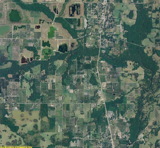 Hardee County, Florida aerial photography