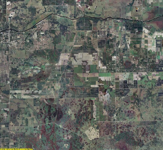 Hendry County, Florida aerial photography