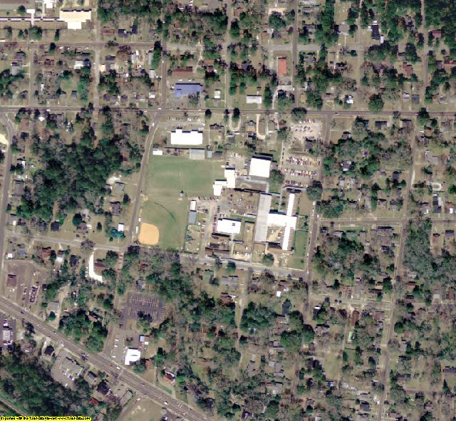 Jackson County, FL aerial photography detail
