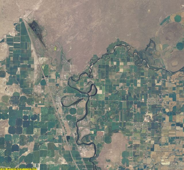 Jefferson County, Idaho aerial photography