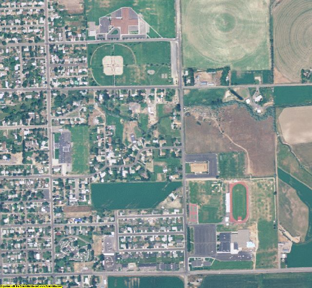 Jerome County, ID aerial photography detail
