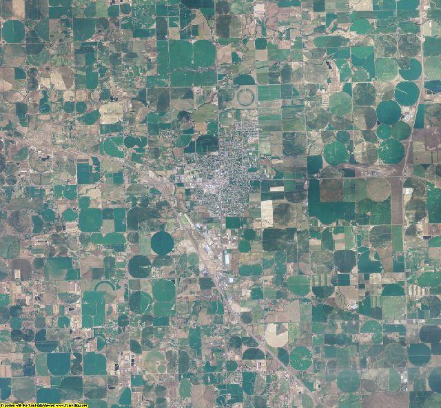 Jerome County, Idaho aerial photography