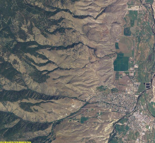 Lemhi County, Idaho aerial photography