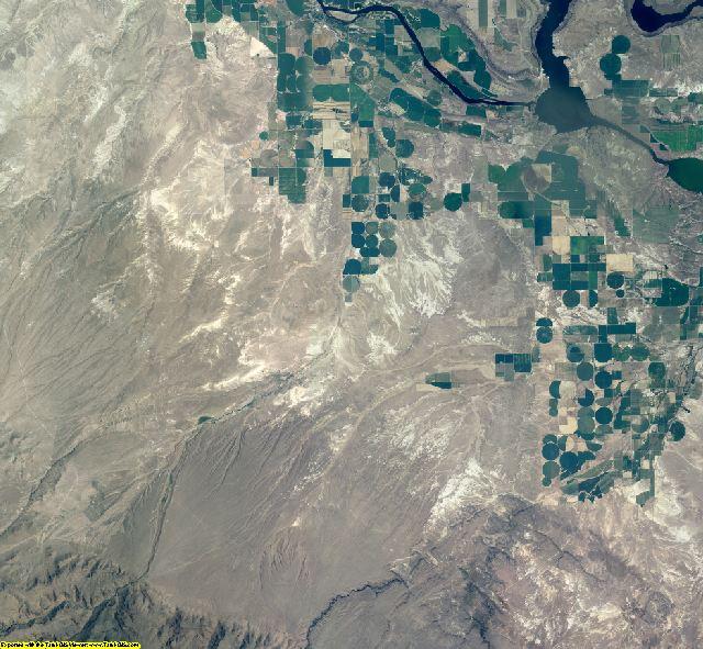 Owyhee County, Idaho aerial photography