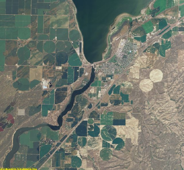 Power County, Idaho aerial photography