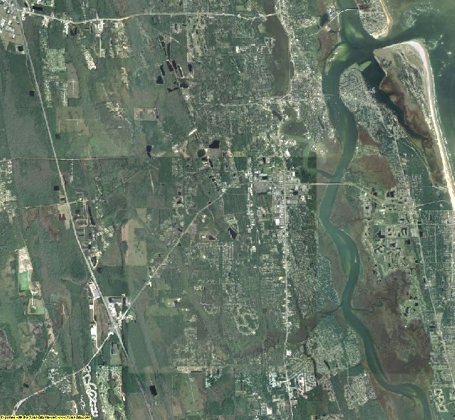 St. Johns County, Florida aerial photography