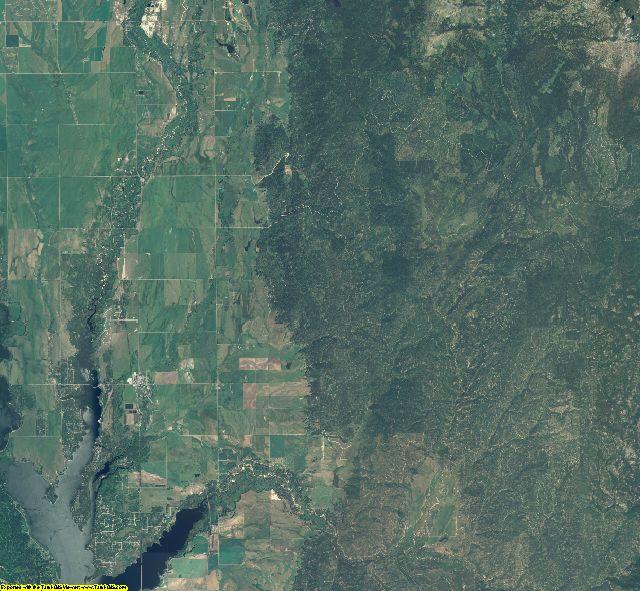 Valley County, Idaho aerial photography