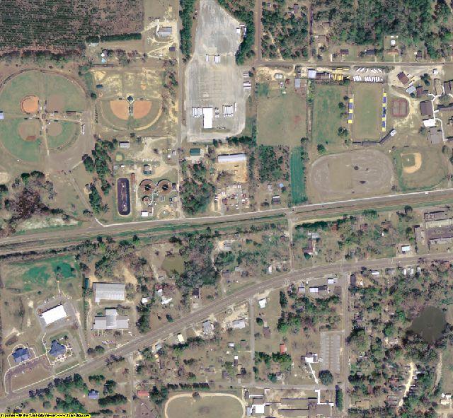 Washington County, FL aerial photography detail