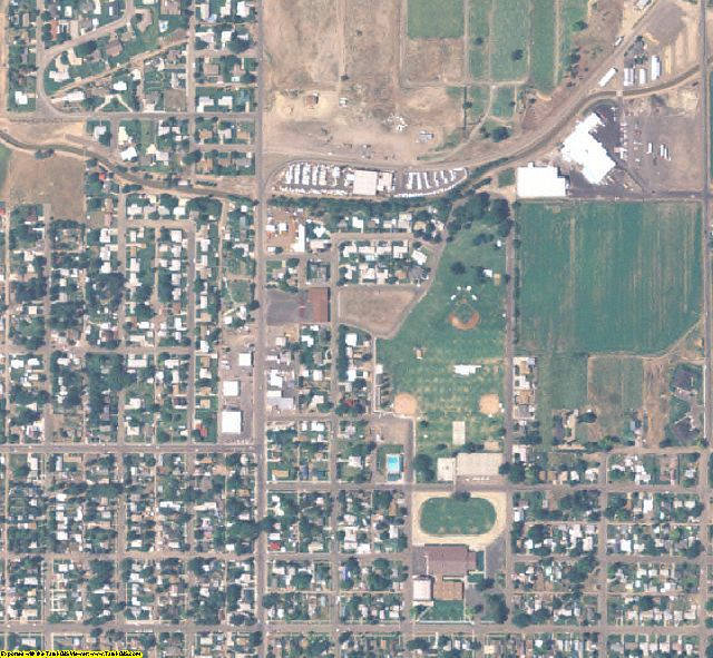 Washington County, ID aerial photography detail