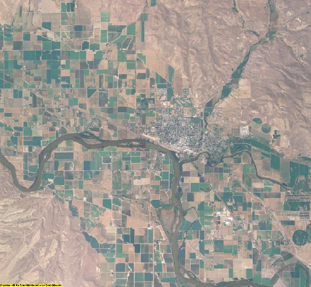 Washington County, Idaho aerial photography