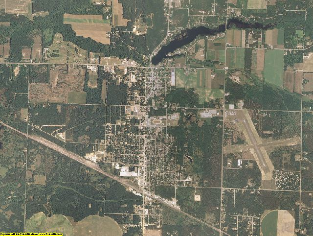 Adams County, Wisconsin aerial photography
