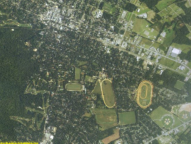 Aiken County, South Carolina aerial photography
