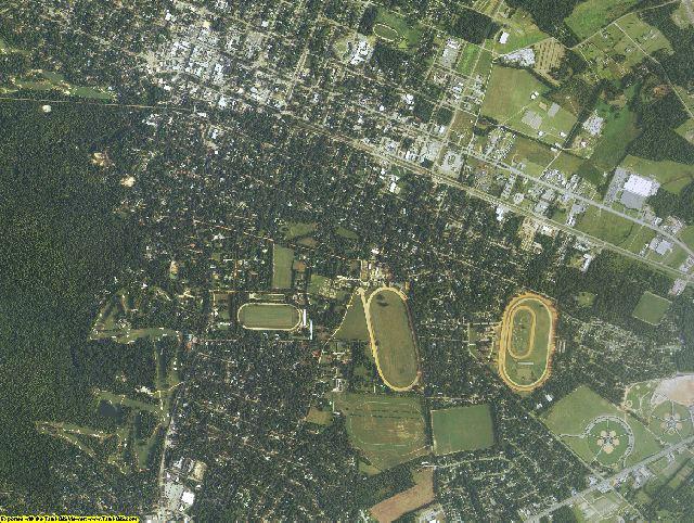 Aiken County, South Carolina aerial photography