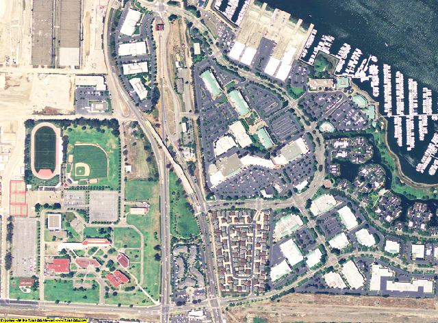 Alameda County, California aerial photography