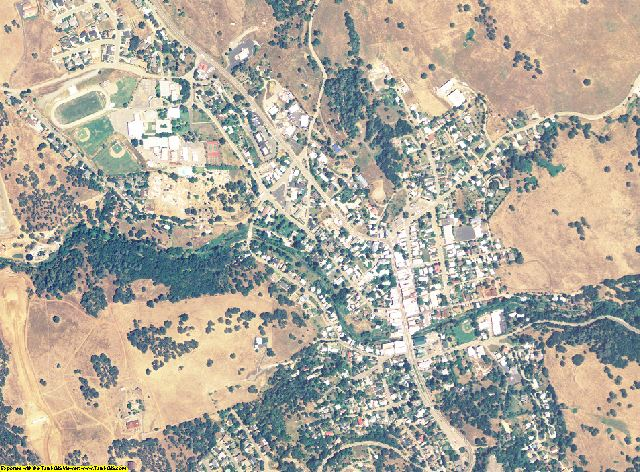 Amador County, California aerial photography