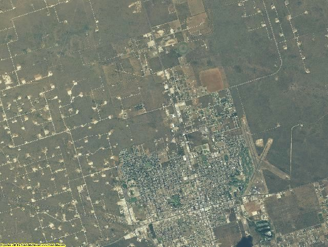 Andrews County, Texas aerial photography