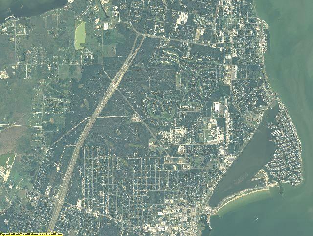 Aransas County, Texas aerial photography