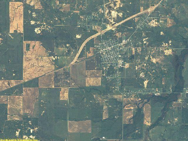 Archer County, Texas aerial photography