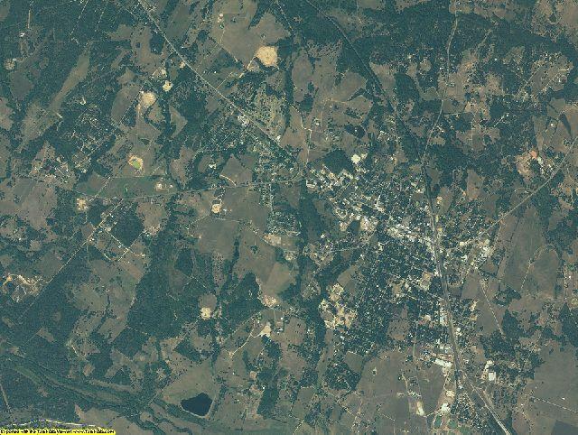Austin County, Texas aerial photography