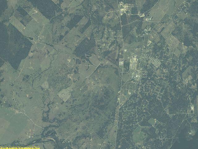 Bastrop County, Texas aerial photography