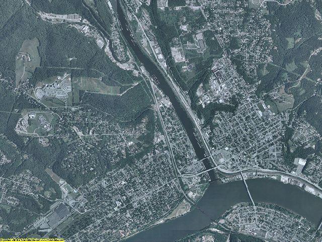 Beaver County, Pennsylvania aerial photography