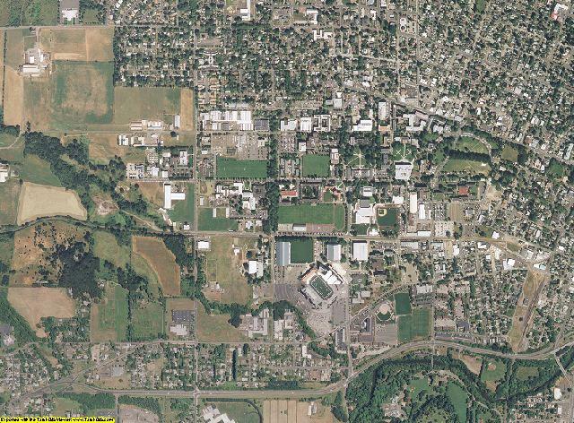 Benton County, Oregon aerial photography