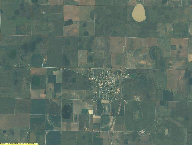 Briscoe County, Texas aerial photography