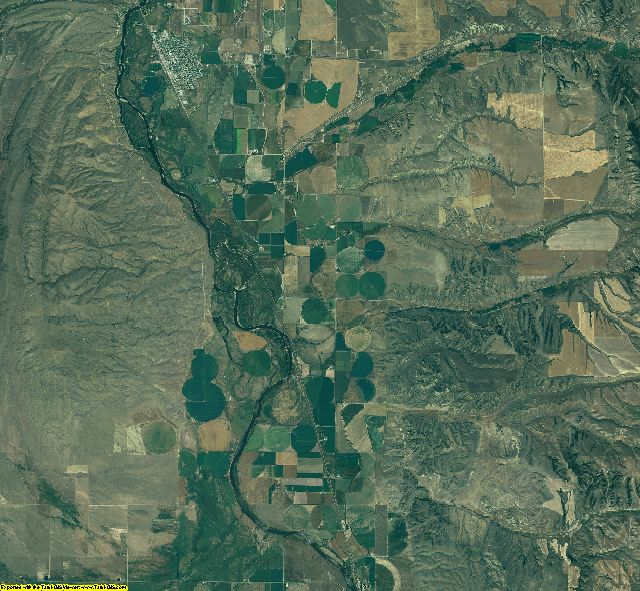 Broadwater County, Montana aerial photography
