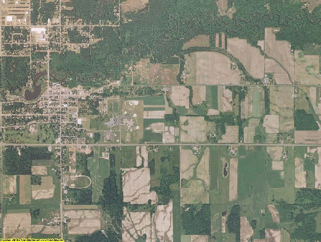 Burnett County, Wisconsin aerial photography