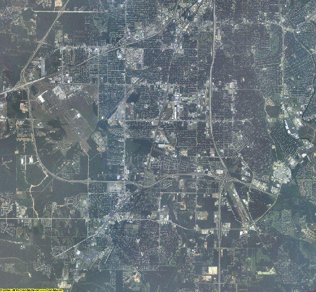 Caddo County, Louisiana aerial photography